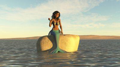 Meerjungfrau sitzt auf einem Stein - Mythos oder Wahrheit? Die gängigsten Irrtümer zu Wärmepumpen