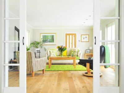 Eine Wohnraumlüftung versorgt die Räume laufend mit frischer Luft