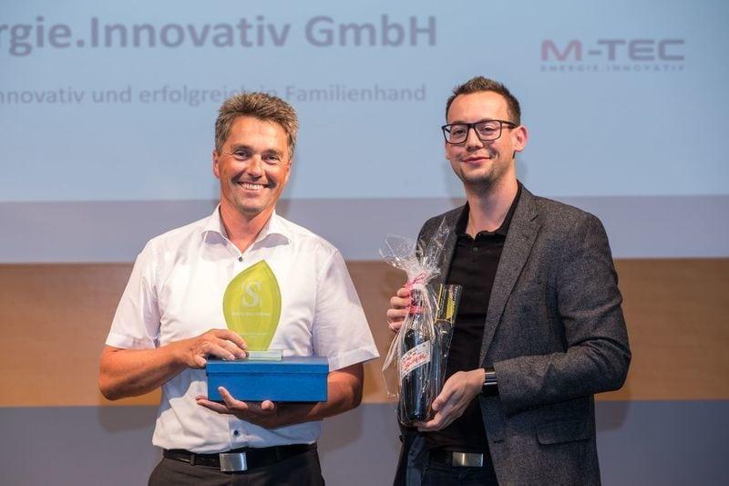 Verleihung Selfie Unternehmenspreis an M-TEC
