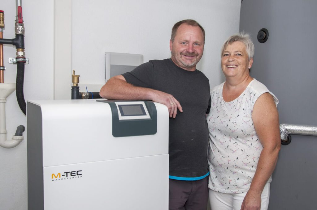 Kundenfeedback Herbert Gierlinger Wärmepumpe Haus Sanierung flächenkollektor direktverdampfung