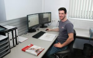 Dominik Rammerstorfer / Konstrukteur bei der Erstellung von Plänen für die Installations- und Gebäudetechnik