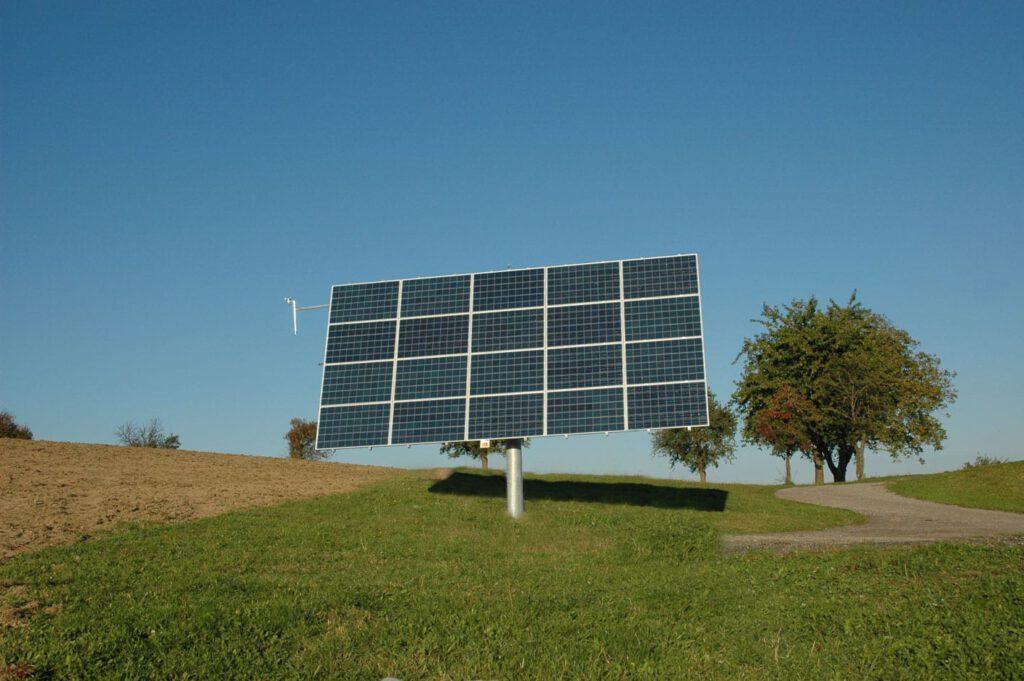 photovoltaik nachführende anlage landwirtschaft