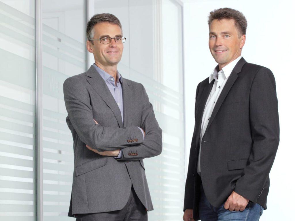Dominik und Klemens Mittermayr, Geschäftsführer M-TEC