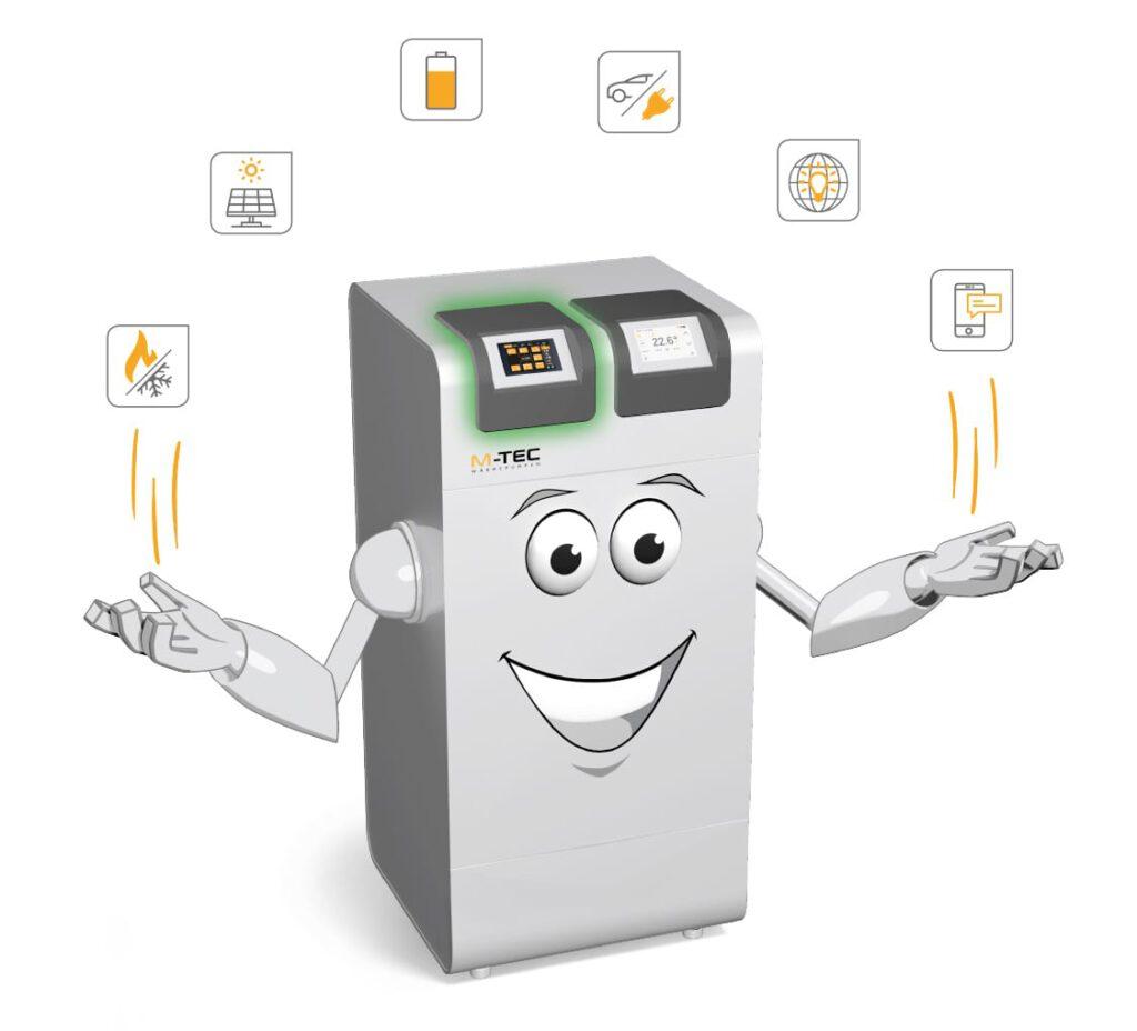 M-TEC E-Smart Energiemanagement mit Wärmepumpe