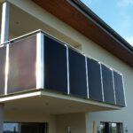 M-TEC Photovoltaik-Anlage als Balkongeländer