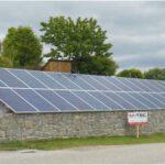 Photovoltaik-Anlage: freistehend