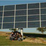 Photovoltaik: nachgeführte Anlage
