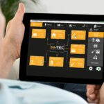 M-TEC: E-Smart Steuerung auf Tablet