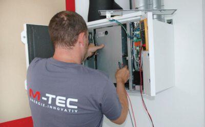 M-TEC Wartung der Wohnraumlüftung
