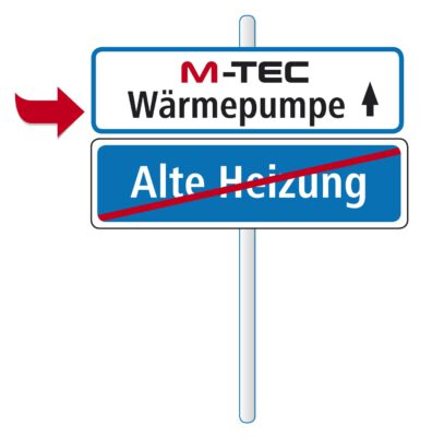 M-TEC fördert den Heizungstausch auf eine Wärmepumpe
