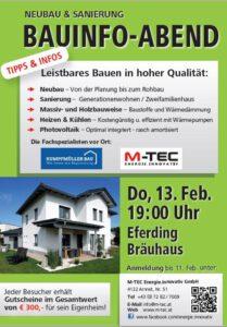 Bauinfo-Abend von M-TEC und Kumpfmüller in Eferding