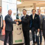 Übergabe Bautrend-Award an M-TEC in der Pluscity