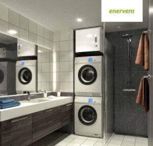 Kompaktes Wohnraumlüftungsgerät von Enervent
