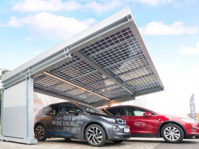 Solar Carport von SONNENKRAFT