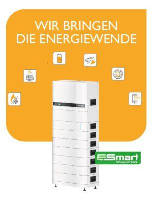 M-TEC Energy Buttler, stappelbarer Batteriespeicher mit integriertem Wechselrichter